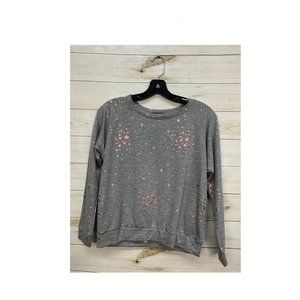 Size XSML Prince Peter Pink Foil Stars Sweater
